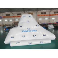 Buy cheap Climbing And Sliding Iceberg With Handels For Inflatable Water Games product