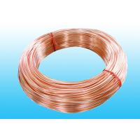 Buy cheap Low Carbon Copper Coated Bundy Tube 6.35mm X 0.6 mm GB/T 24187-2009 from wholesalers