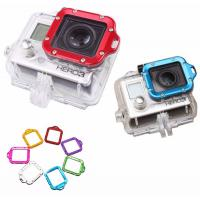 Buy cheap GoPro Hero 3 Camera Lens Ring Colorful Aluminum CNC Lanyard Square Lens Ring Mount Adapter product
