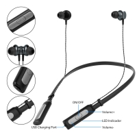 Buy cheap 10M Bluetooth WT230S 135mAh Noise Cancelling Headset Earbuds from wholesalers