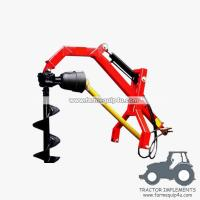 Buy cheap PHDPH - Tractor 3point Hydraulic Post Hole Borer with different sizes Augers available from wholesalers