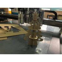 Buy cheap Christmas Tree Flute Corrugated Sample Cutter Packaging paper carton sample Maker Plotter Machine from wholesalers