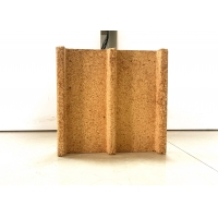 Buy cheap Shaped Fireplace 55% Al2o3 Insulating Refractory Brick from wholesalers