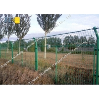 Buy cheap High Tensile Barbed Wire Fence Protective Net Weather Resistance For Road from wholesalers