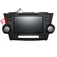 Buy cheap 2G RAM Toyota Highlander Dvd Player , 8 Inch Double Din Head Unit Support TPMS product
