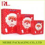 Buy cheap Christmas Santa Claus Pattern Handbag Xmas Decor Wedding Candy Gift Paper Bags from wholesalers