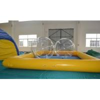 Buy cheap Advertising 0.6mm PVC Tarpaulin Durable Inflatable Water Swimming Pool for playing center from wholesalers