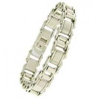 Buy cheap Golden Stainless Steel Chains charm Bracelets for Men 1420135 from wholesalers