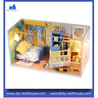 Buy cheap DIY Wooden Dollhouse Miniature Doll House Furniture Handmade 3D Miniature Puzzle C003 from wholesalers