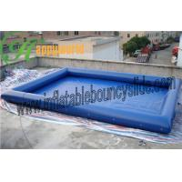 Buy cheap Extra Large Above Ground Inflatable Water Pools , Inflatable Swimming Pool For Adults from wholesalers