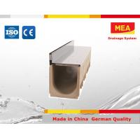 Buy cheap MEA Storm drainage linear trough gutter/channel for outdoors from wholesalers