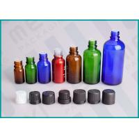 Buy cheap Color Coated Glass Bottles With Screw Cap And Orifice Reducer For Essential Oil from wholesalers