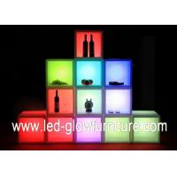 Buy cheap Free combination Containers cleanable LED Cube Furniture with Remote Controller from wholesalers