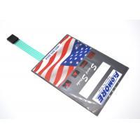 PET / PC Tactile Membrane Switch Keyboard , Custom Membrane Panel Switch
