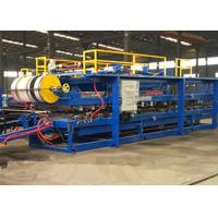 Buy cheap Discontinuous Wall Pu Sandwich Panel Machine 300 - 500kpa Tensile Strength product