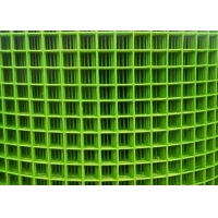 Buy cheap Chicken Cage BWG18 Green Pvc Coated Welded Wire Mesh from wholesalers