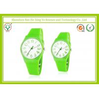 Buy cheap Simple Eco-friendly Casual Sport Watches Green For Women / Men from wholesalers