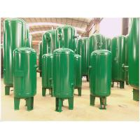 Buy cheap Industrial Compressed Air Vacuum Receiver Tank Carbon Steel Medium Pressure product
