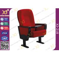 Buy cheap Embroidery Customized Wooden Back & Seat Conference Hall Chairs With 5 Years product