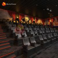 Buy cheap Haunted House Park Equipment 4d 5d 7d Horror Cinema Movie Theater Chairs from wholesalers