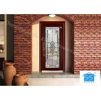 Buy cheap Soundproof French Decorative Door Panel InsertsAnti Knock 25 Mm Solid from wholesalers