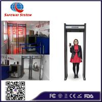 Buy cheap Fireproof Guardian Security Metal Detector , Safety Walk In Metal Detector 6 Zones from wholesalers