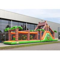 Buy cheap Attractive Giant Adult Inflatable Obstacle Course With PVC Material from wholesalers