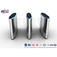 Buy cheap 304 Stainless Steel Flap Barrier Gate Security Flap Turnstile Access Control System product