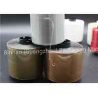 Buy cheap Custom Tear Strip Packaging Tape , High Temperature Resistance Bag Sealing Tape product