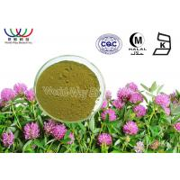 Buy cheap Trifolium Pratense Isoflavone Red Clover Powder , Formononetin Red Clover Blossom Extract product