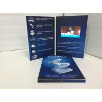 Buy cheap Book Style and Paper Material digital videobooklet 4.3'' lcd screen video brochure for event invitation/video marketing from wholesalers