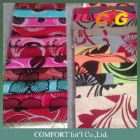 Buy cheap 100% Polyester 145cm Width Flock Jacquard Upholstery Fabrics For Couches product