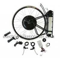 Buy cheap Rear Wheel Electric Bike Kit 36V 500W Brushless Hub Motor 25km - 38km / h from wholesalers