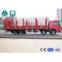 Buy cheap Sinotruk Howo Heavy Duty Cage Structure Lorry Truck 9280 x 2300 x 800mm from wholesalers