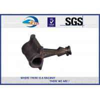 Buy cheap UIC DIN Standard Steel Rail Cast Iron 8.8 Grade Railway Shoulder Oxide Black from wholesalers