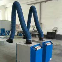 Buy cheap Cleaning equipment fabric dust collector 160mm PVC coated glass fiber ducting from wholesalers