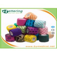 Buy cheap First Aid Care Cohesive Bandage Wrap , Colored Self Adhering Gauze Bandage from wholesalers