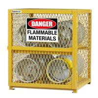 Buy cheap Explosion Proof Chemical Storage Cabinets With Adjustable Shelf For Gas Cylinders cage from wholesalers