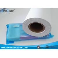 Buy cheap Glossy PP Synthetic Paper Roll , Wide Format PP Inkjet Printing Paper product