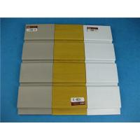 Buy cheap Supermarket Plastic Slatwall Panels Hot Stamping Environmental from wholesalers