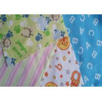 Buy cheap Fire Resistant Printed Cotton Flannel Material Double Sided Twill Style from wholesalers