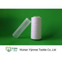 Buy cheap Raw White Polyester Sewing Thread yarn , 30/2 High Twist Yarn AAA Grade Virgin Bright product