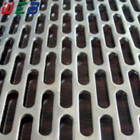 Buy cheap slotted hole perforated metal sheet from wholesalers