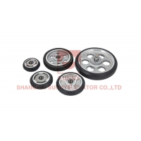 Buy cheap CE 75*23.5mm Profile Guide Hosting Elevator Door Roller from wholesalers