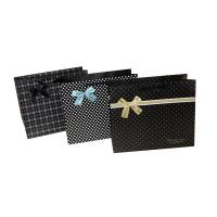 Buy cheap Cute Dots Paper Party Bag Decorating with butterfly bow for Advertising Packing from wholesalers