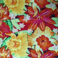 Buy cheap No Pilling Printed Rayon Fabric Breathable Comfortable To Wear 60X62 Density from wholesalers