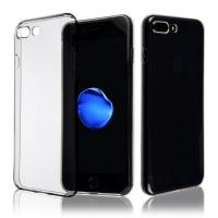 Buy cheap Super thin Transparent Silicon Soft TPU Clear Phone Back Case Cover For Iphone 8 Plus case from wholesalers