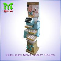 Buy cheap Cosmetics Store Promotion Cardboard Pop Display Stands for Nail Polish / Brow Powder from wholesalers