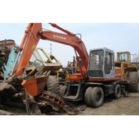 Buy cheap used hitachi excavator ex100wd wheel excavator from wholesalers