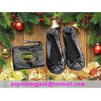 Buy cheap Very Comfortable and Easy to Store in a Purse Foldable Ballet Shoe for Christmas New Promotion Gift from wholesalers